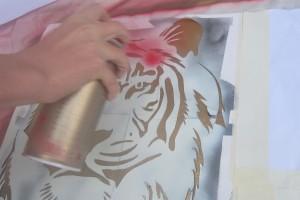 graffiti-tiger